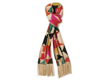 Echo print scarf