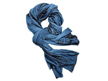 Urban Zen blue scarf