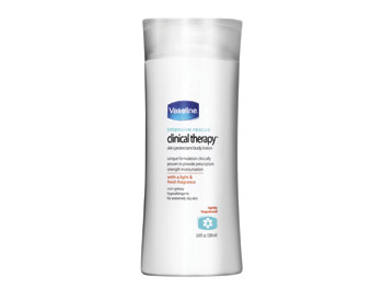 Vaseline Intensive Rescue Clinical Therapy Protectant Body Lotion