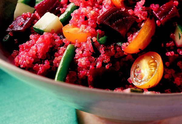 Quinoa Salad with Beets
