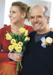 Elizbeth Gilbert and Felipe