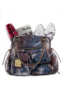 MZ Wallace Teflon-coated nylon bag