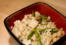 Japanese-Style Rice with Pork and Asparagus