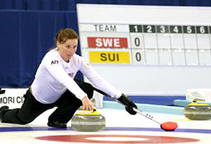 Allison Pottinger USA Curling Team