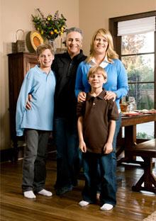 Brigid Shaheen and family