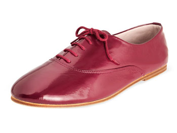 Bloch patent leather oxfords