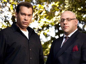 Sean and lawyer Brian Kramer, November 2009