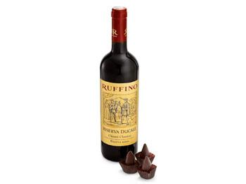 Ruffino Chianti Classico and Vosges Rooster Truffle