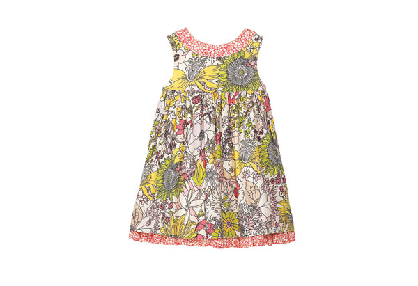 Liberty of London printed infant's dress