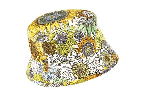 Liberty of London printed crusher hat