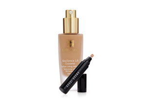 Estee Lauder, Bobbi Brown, makeup, cosmetics, concealer, foundation