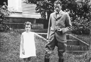 girl and her father