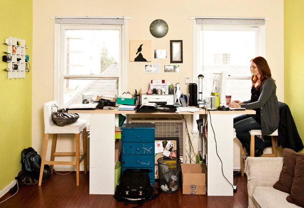 peter walsh's ten steps to home office organization