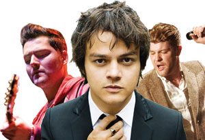 Jamie Cullum, Daniel Merriweather and Findlay Brown