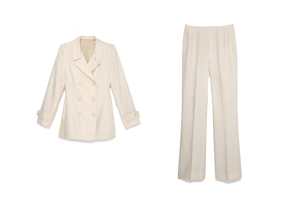 Oprah white suit jacket
