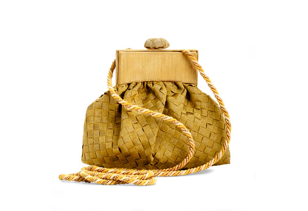 Oprah's auction small woven bag