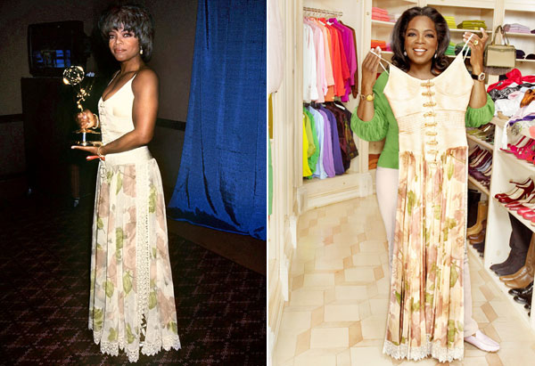 Oprah's 1994 Emmy Dress