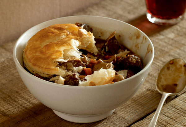 Quick Steak and Kidney Pie