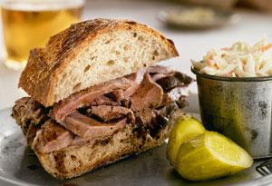 Spiced Beef Sandwich