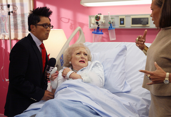 Betty White in Ugly Betty