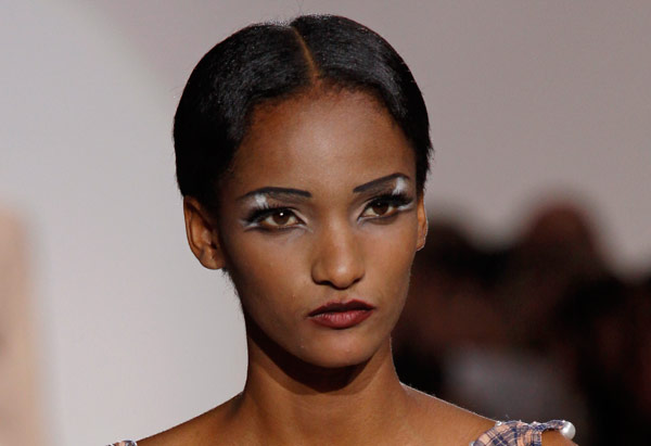 Marc Jacobs Spring ready to wear fake lashes