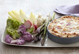 Warm Three-Onion Dip
