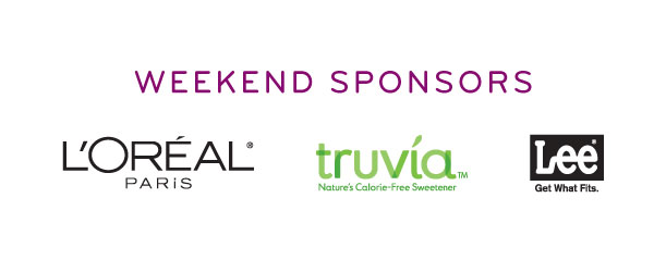 Oprah's Live Your Best Life Weekend sponsors