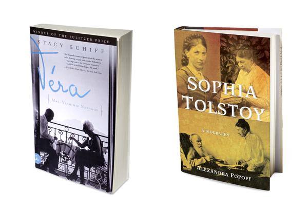 Vera by Stacy Schif and Sophia Tolstoy by Alexandra Popoff