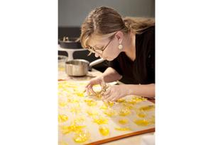 Elizabeth Prueitt baking