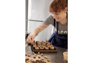 Mindy Segal baking
