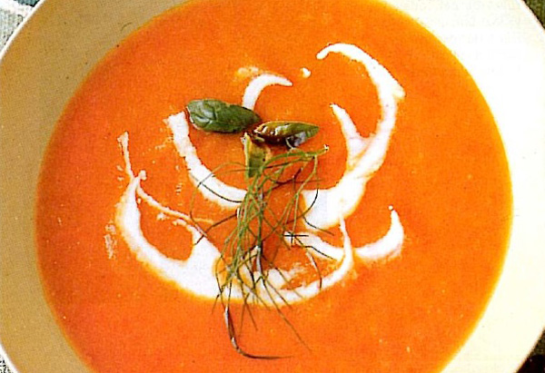 Red Pepper and Fennel Soup