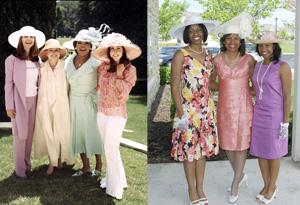 Oprah's garden party