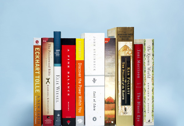 Oprah's top 10 books from 2000 to 2010