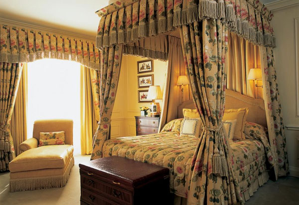 The Dorchester Hotel room
