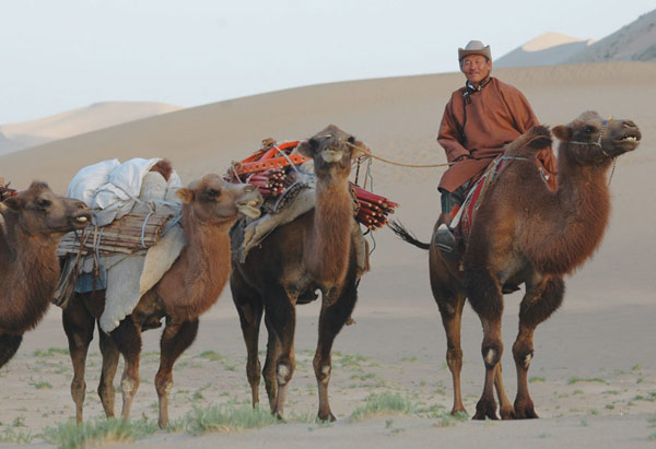 Nomadic Expeditions trip to Mongolia's Gobi desert