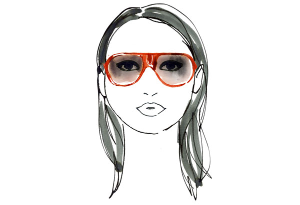 Sunglasses Frame For Face Shape : ROUND SHAPED FACE ~ MakeUp-4-Girls