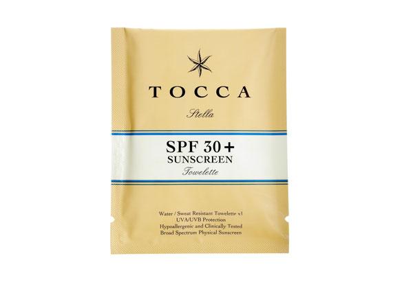 Tocca SPF 30+ Towelettes