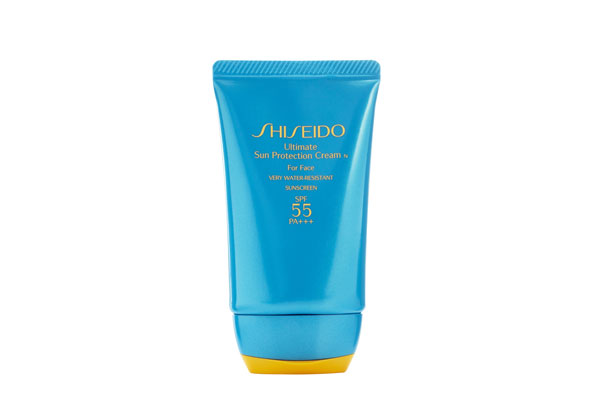 Shiseido Ultimate Sun Protection Cream SPF 55  PA+++ for Face