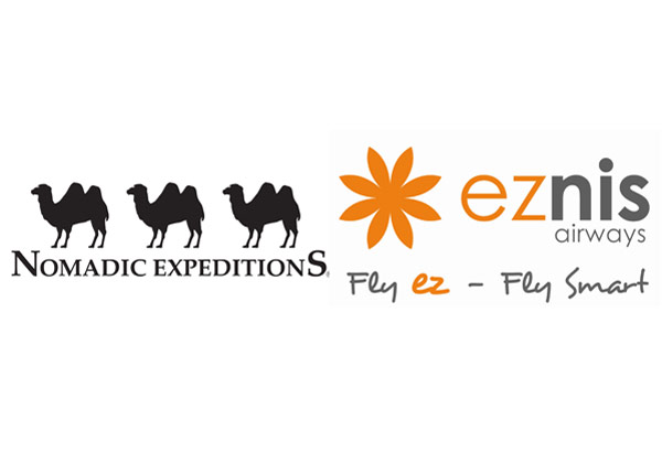 eznis airways and Nomadic Expeditions