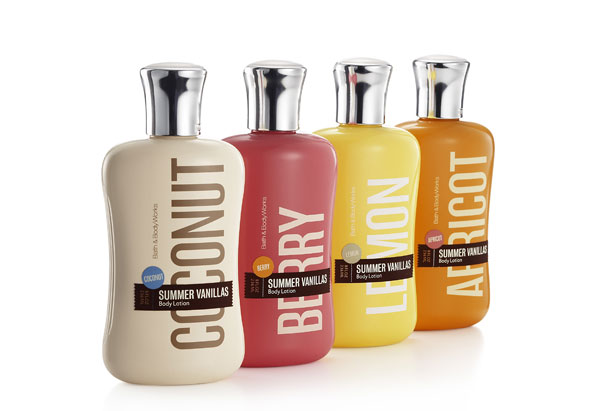 Bath and Body Works Vanilla body lotions