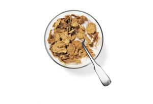 Bowl of bran cereal