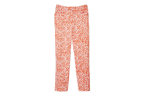 printed capri pants