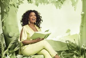 Oprah reading