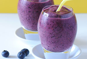 Blueberry Brain Boost Smoothie