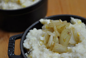 Savory Triple-Corn Grits
