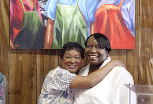 Teresa Lumpkin and Angelish Wilson