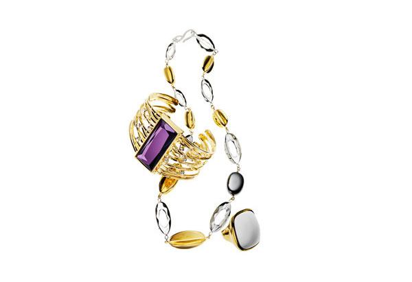 gold accent jewelry