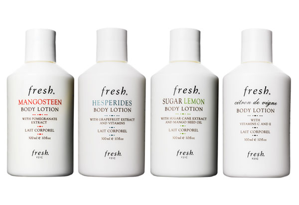 four Fresh body lotions