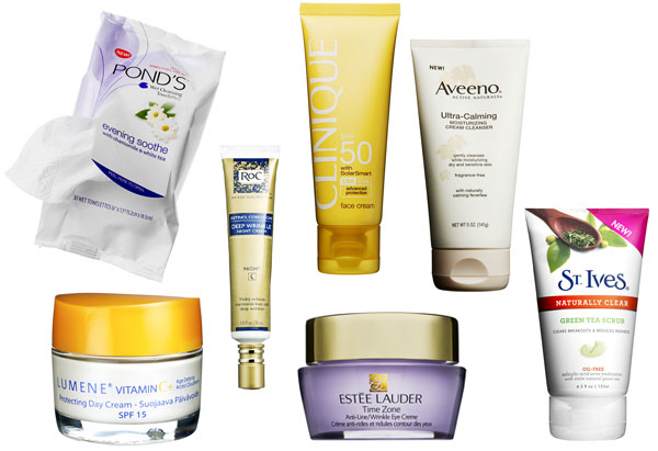7 skincare items