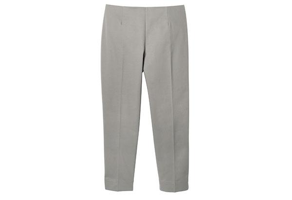 flat-front cigarette pants